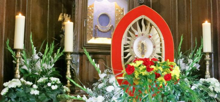 Übertragung des Gnadenbildes zurück in die Gnadenkapelle