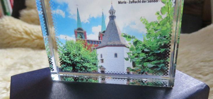 Briefbeschwerer mit dem Motiv unserer Gnadenkapelle